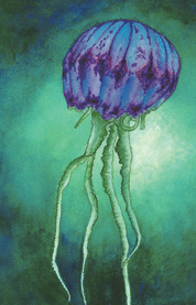Blue Purple Jelly Elizabeth Kapa
